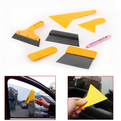 7PCS Car Window Tint Tool Kit for Auto Film Tinting Scaper Application Installation