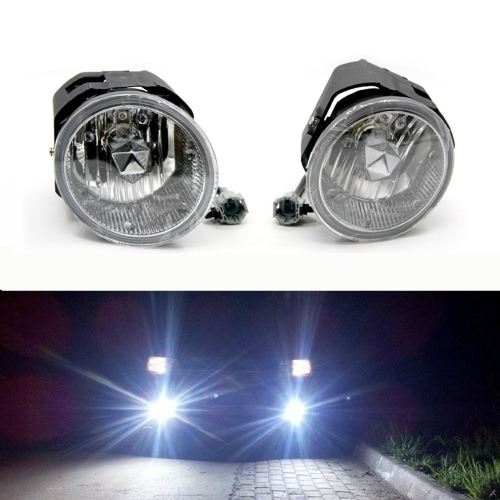 Tirol 2×50W Front Fog Driving Lamp Kit OEM Replacement for Nissan X-trail/Frontier Pickup Truck Bumper Lamps