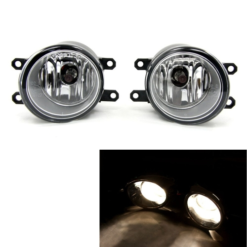 Tirol 2×55W Front Fog Driving Lamp Kit OEM Replacement for Toyota Highlander Bumper Lamps