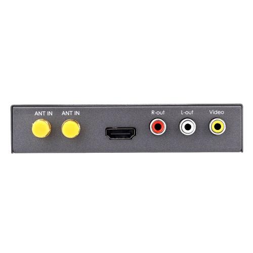 Receptor DVB-T Mini vários canal carro móvel TV Digital caixa sintonizador de TV analógica de alta velocidade 240km/h forte sinal com antena 2