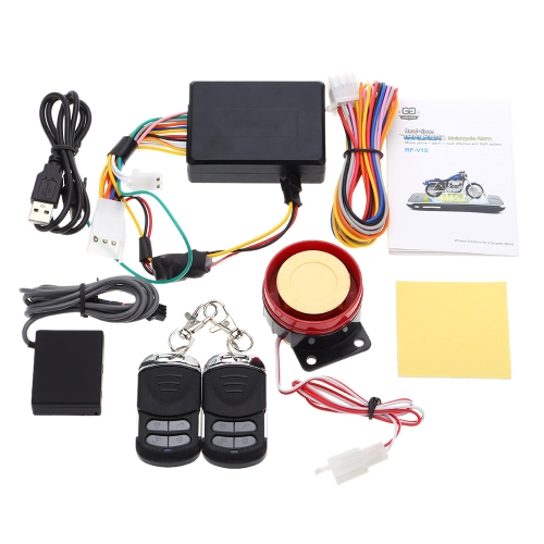 RF-V10 Vehicle Tracker Anti-Lost Real-time Motorcycle Tracker Alarm Security System with Remote Star