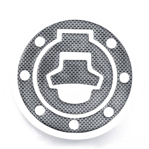New Carbon-Look Fuel / Gas Cap Cover Pad Sticker For Suzuki Katana GSX 600F 750F R 600 750