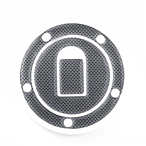 New Carbon-Look Fuel / Gas Cap Cover Pad Sticker For Kawasaki ZX-6R/ZX-636 2000-2006 ZX-10R 04 05