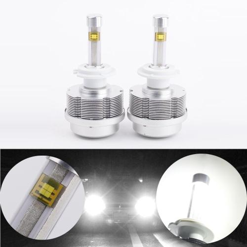 2PCS H7 60W 7200LM/Set Auto LED Headlights Bulb 6000K Lamp All in One
