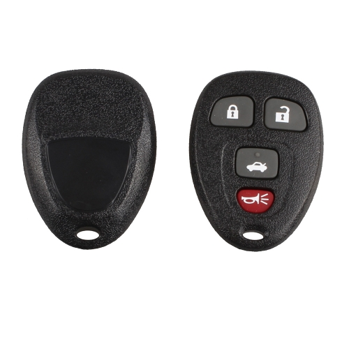 4 Button Replacement Keyless Entry Remote Key Fob Alarm Control Clicker Transmitter for OUC60270