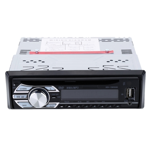 Car CD DVD MP3 Player In-Dash FM  Car Stereo Radio Audio Player