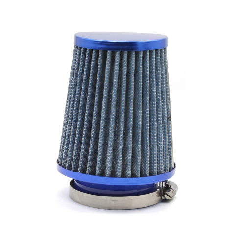 New Universal Car Round Tapered Air Filters 76MM Clamp-On Micro Cotton Gauze Cold Air Intake Filters
