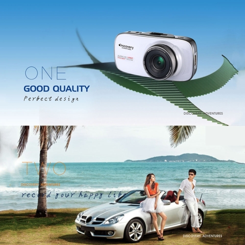 Discovery Adventures 1080P FHD 170°Night Vision Car DVR Video Recorder Vehicle Camera Dash Camcorder