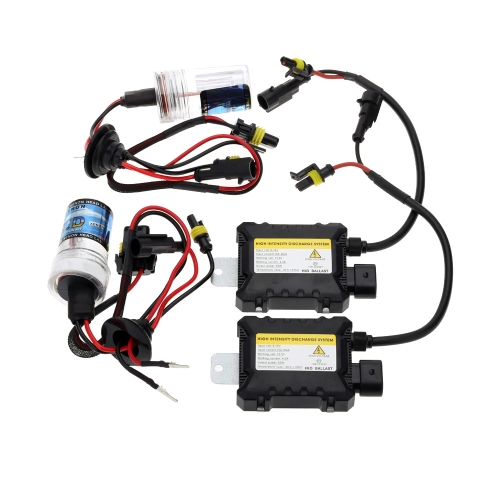12V DC H7 55W Ballast HID Xenon Conversion Kit Car Head Lights Lamps 4300K 6000K 8000K 10000K