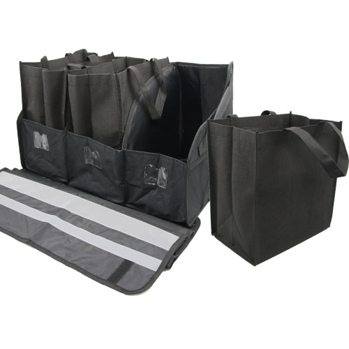 Car Trunk Organizer Durable Oxford Collapsible Foldable Storage Bag Large Capacity for SUV Sedan Truck