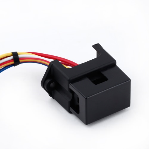 4 Way DC32V Circuit Car Trailer Auto Blade Fuse Box Block Holder ATC ATO 2-input 4-ouput Wire
