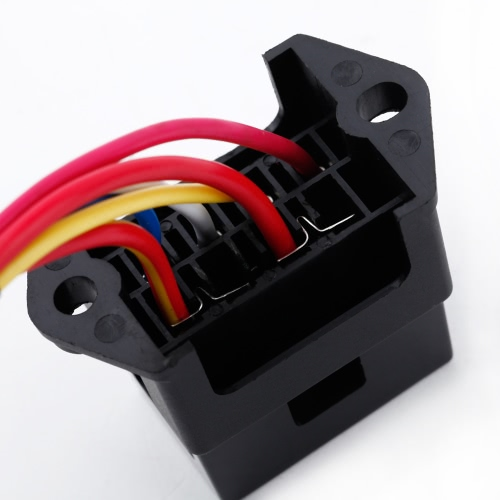 4 Way DC32V Circuit Car Trailer Auto Blade Fuse Box Block Holder