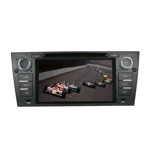 """7 """"écran tactile 2 Din Car Lecteur DVD Navigation GPS dans Dash Car Radio Unité stéréo PC pour BMW E90 / E91 / E92 / E93 + carte gratuite + carte gratuite"""