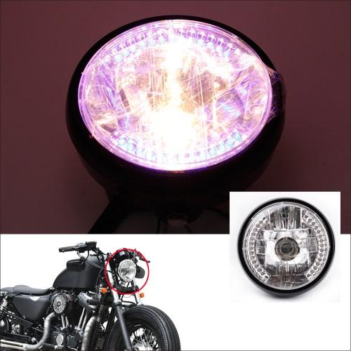 """7 """"Kierunkowskaz Halo LED Kierunkowskaz z H4 dla Harley"""