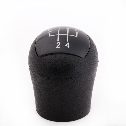New 5 Speed Gear Shift Knob Head for Renault Clio Kangoo Black