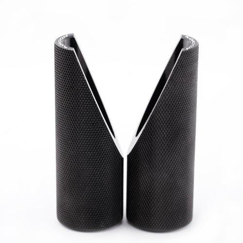 2pcs KKmoon alumínio Peg de pé para Honda Ruckus Zoomer