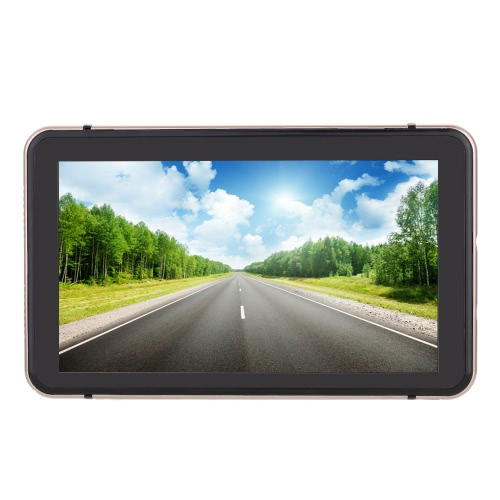 7-дюймовый сенсорный экран HD с сенсорным экраном Портативный автомобильный GPS-навигатор 128 МБ ОЗУ 4 ГБ
