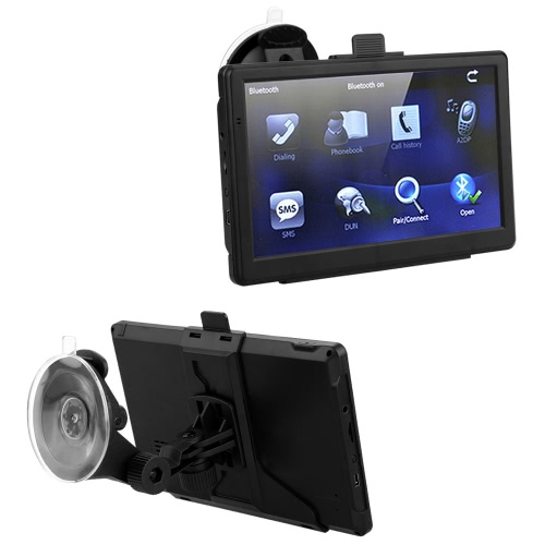 7-calowy ekran dotykowy HD Portable Car GPS Navigation 128MB RAM 4GB ROM