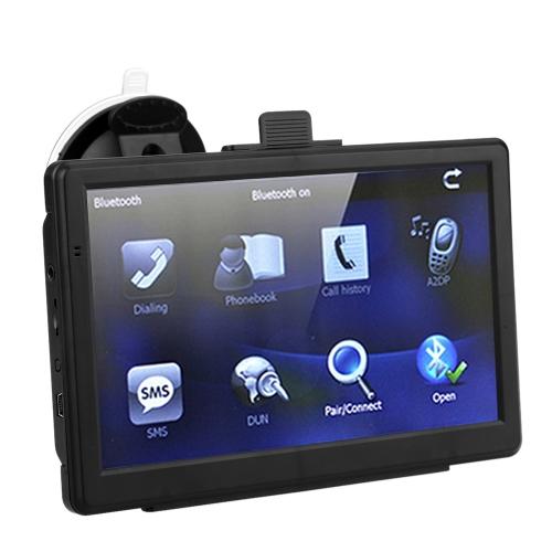 Navigation portative de RAM de la navigation 128MB 4GB de GPS de voiture d'écran tactile de HD de 7 pouces