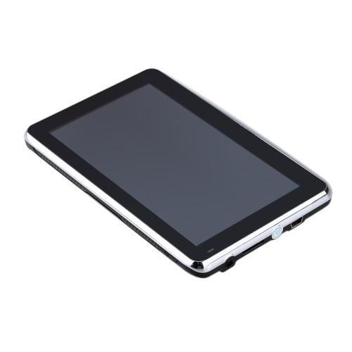 """5"""" HD Touch pantalla portátil coche GPS navegación de 128 MB RAM 4 GB FM Video juego de navegador de coche con respaldo + gratis mapa"""