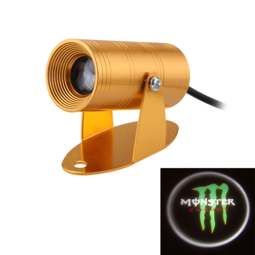 12V Motorcycle Universal LED Laser Light Projection Lamp Ghosts Claw Shadow Light