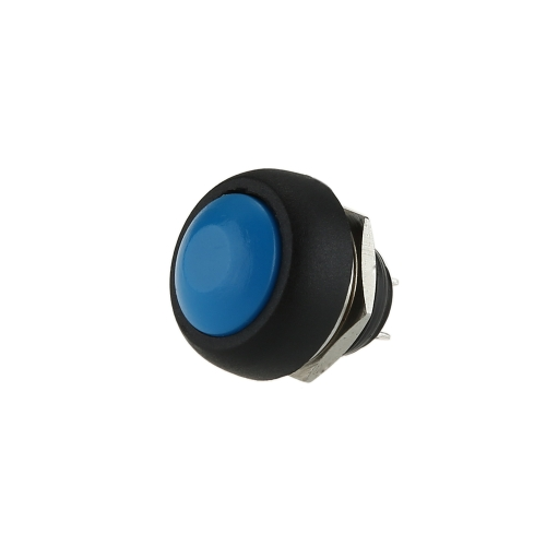Mini Round 12V Momentary Push Button Horn OFF/ON Doorbell Switch SPST