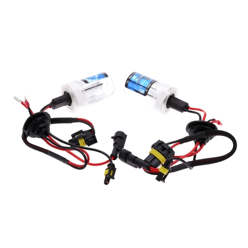 One  Set of 12V AC 9006 35W HID Xenon Conversion Kit Car Head Lights Replacement Bulbs Lamps 4300K 6000K 8000K