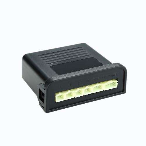 Steelmate Ebat C1 4 sensores de Aparcamiento Sistema de Asistencia Sensor de Aparcamiento de Coches Radar Inversa Sistema de Alerta con Audible Externa Zumbador Altavoz