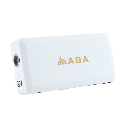 AGA A9 Multifunctional Car Jump Starter Mini Car Emergency Power Mobile Power Bank 12,000mAh High Capacity Battery Charger Portable Car Battery Charger for Phone Laptop Camera Outdoor Travel Camping