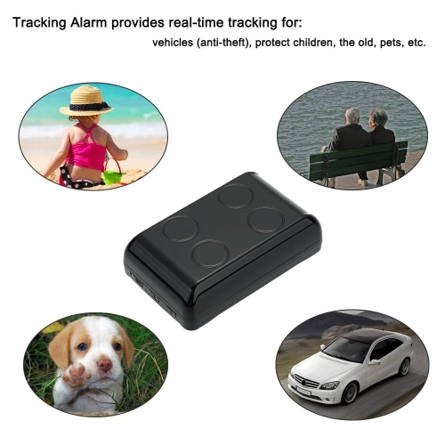 Mini GPS GPRS GSM Car Vehicle Tracker G-Fence SMS SOS Tracking Alarm Anti-Lost Personal Locator for Pets Childre Elders