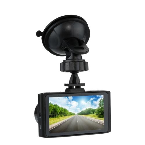 KKmoon 1080P FHD Car DVR Video Recorder Dash Camcorder HD G-sensor Vehicle Camera