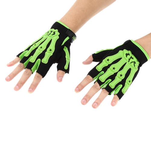 Pro-biker Half Finger Motorcycle Cycling Racing Riding Protective Gloves M L XL