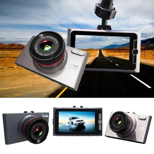 iQi 1296P FHD Car DVR Digital Vehicle Driving Recorder Dash Camcorder Camera