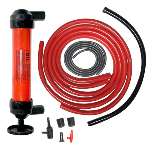 Manual Car Siphon Pump Pipe Oil Extractor Gas Liquid Water Change Transfer Hand Air Pumps