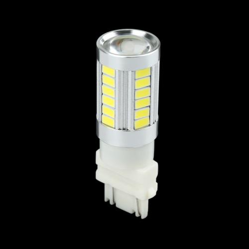 2 X 5630 33-SMD 850LM LED Car Turn Signal Brake Tail Light Lamp Bulb 3157 Socket White