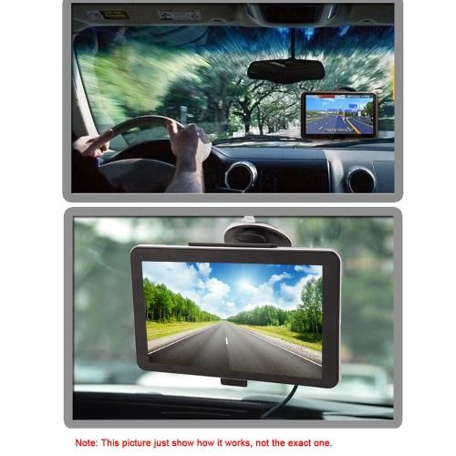 KKmoon 7 HD Touch Screen Portable GPS Navigator FM MP3 Video Player