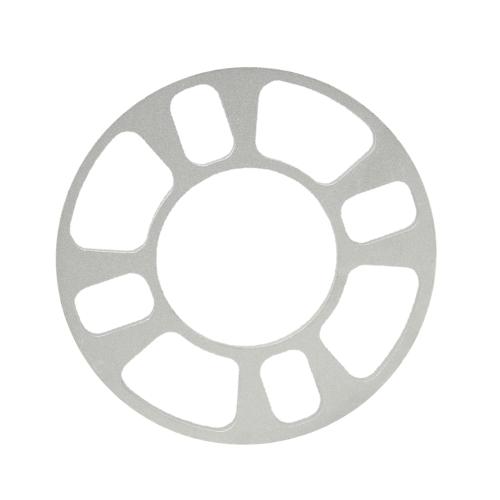 Roda universal espaçador adaptador 4 furo 8mm alumínio roda cabe 4 Lug 4x101.6 4 x 108 x 4 112 4x114.3