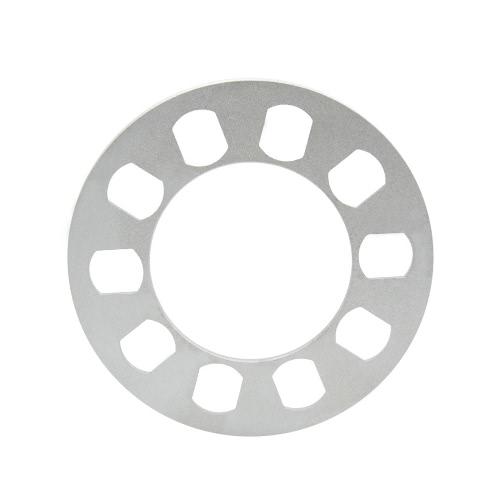 Universal separador adaptador 5 agujero 5mm aluminio rueda ajuste 5 Lug 5X120.7 de 5X114.3 5 X 120 5 X 127
