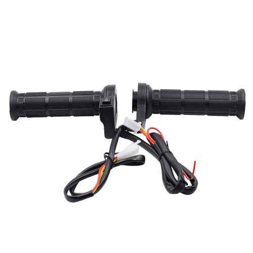 One Pair of 12V Motorcycle Heated Grips Hot/Warm Handlebar with Switch