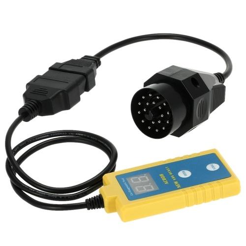Segunda mano ALBABKC AC808 Auto herramienta de escaneo de diagnóstico de bolsa de aire Lector de código Escáner Leer y borrar códigos de problemas SRS para BMW