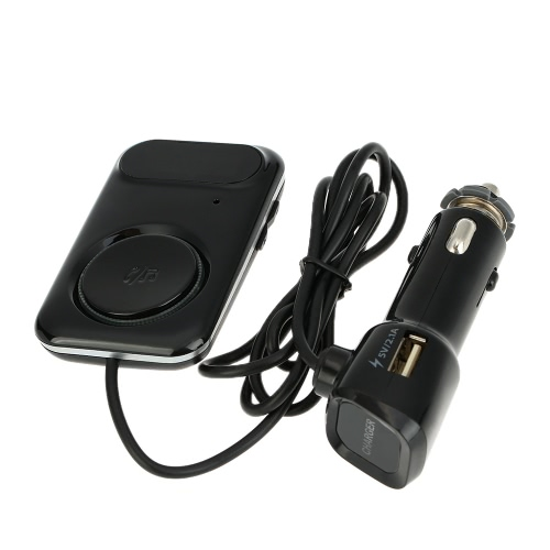 BT Transmissor FM Handsfree Telefone Chamando Kit Car Music Player 2.1A carregador de carro