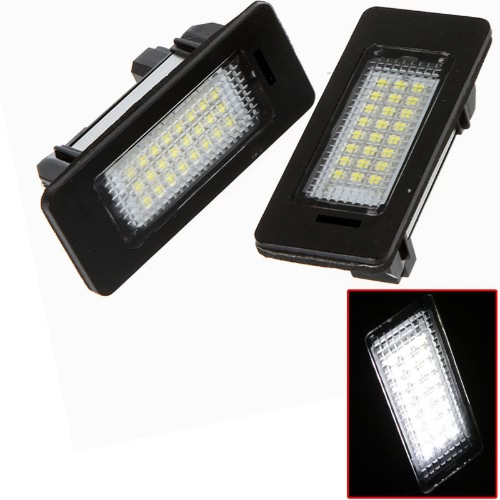Par sin errores 24 3528 LED lámpara de luz para BMW E39 E60 E61 E90 5 Series