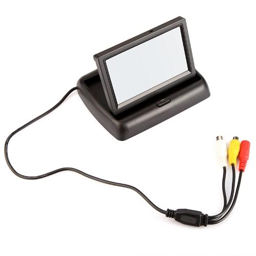 """Monitor de segurança traseiro reverso do carro TFT colorido de 4.3 """"para câmera VCR de DVD da câmera"""