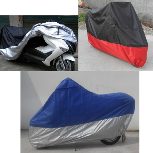 KKmoon Motorcycle Cover Motorcycle Bike Moped Scooter Cover Waterproof Rain UV Dust Prevention Dustproof Covering XL