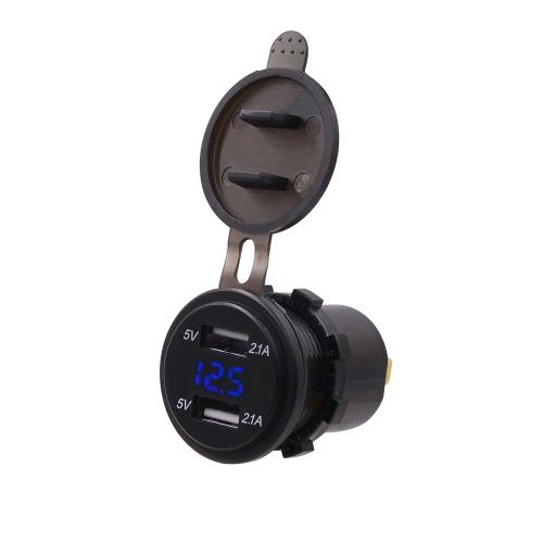 Dual USB Car Recharger Zigarettenanzünder