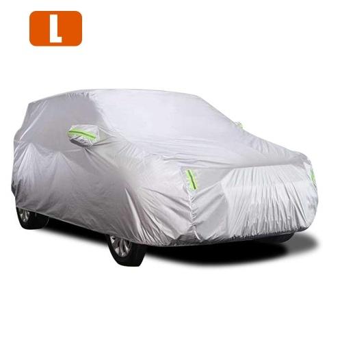 Car Cover Full Sedan Covers mit Reflexstreifen Sonnenschutz Staubdicht UV Kratzfest Auto Cover