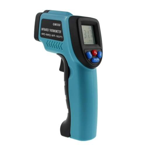 -50~550 C Handheld Non-contact Digital Infrared Thermometer Pyrometer Aquarium LCD Laser Thermometer