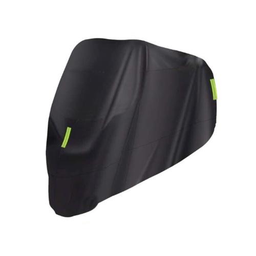 Cubierta universal para motocicleta: protección impermeable al aire libre para todas las estaciones contra polvo, lluvia y clima