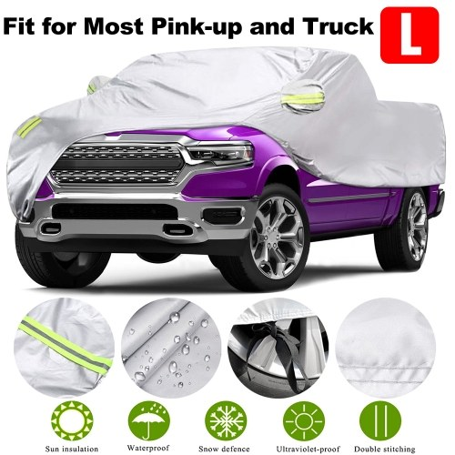 Truck Cover, All Season Car Cover for Pickup Truck, Against Dust, Debris, Windproof UV Protection 170T Replacement for Ford Raptor F150 F250 GMC