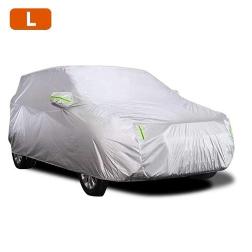 Cubierta del coche Cubiertas completas con tira reflectante Protección del protector solar A prueba de polvo Impermeable UV Resistente a los arañazos para 4X4 / SUV Business Car